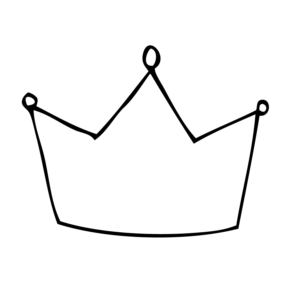 Simple crown clipart png clip free download Simple Crown Outline | Clipart Panda - Free Clipart Images clip free download