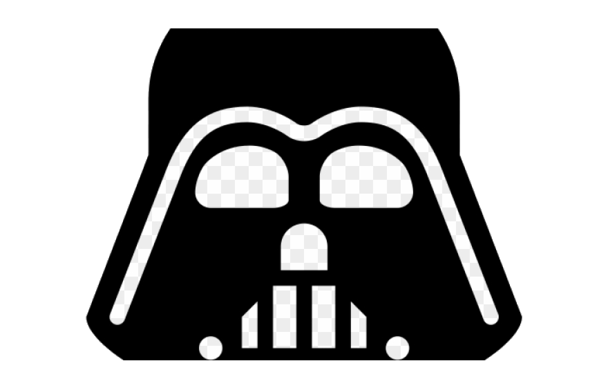 Simple darth vader clipart black and white vector freeuse stock Darth Vader Clipart Vector Star Wars Icon Transparent Png ... vector freeuse stock