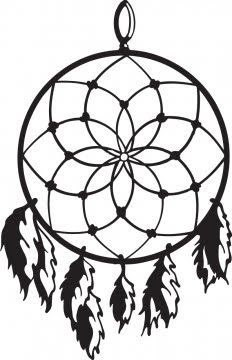Simple dream catcher clipart black and white royalty free simple dreamcatcher stencil - Google Search | Design ... royalty free