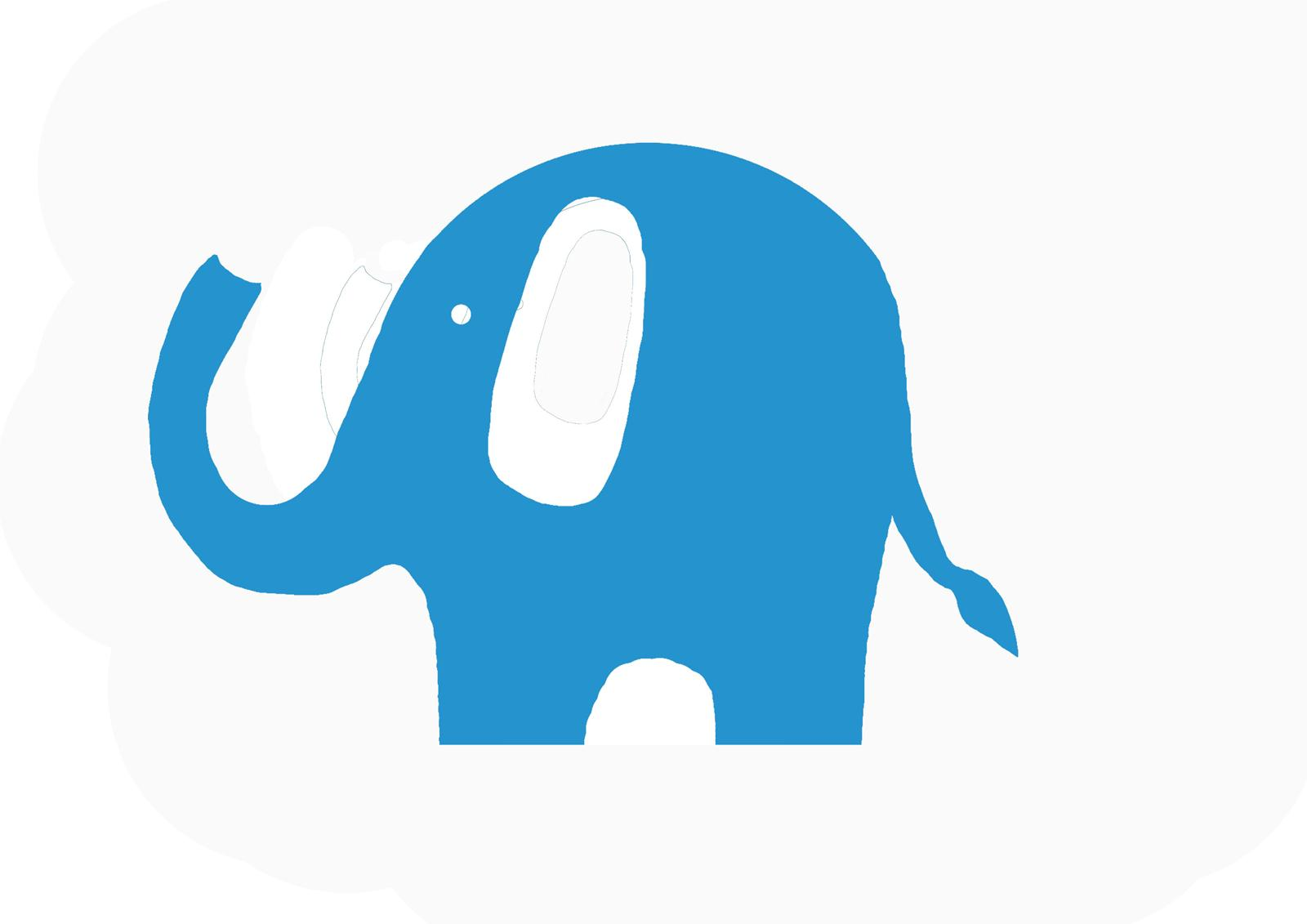 Simple elephant clipart graphic free download Simple Elephant Outline | Free download best Simple Elephant ... graphic free download