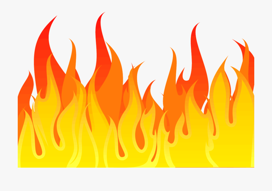 Simple flame clipart vector stock Freeuse Download Ideas Simple Backyard - Fire Clipart Png ... vector stock