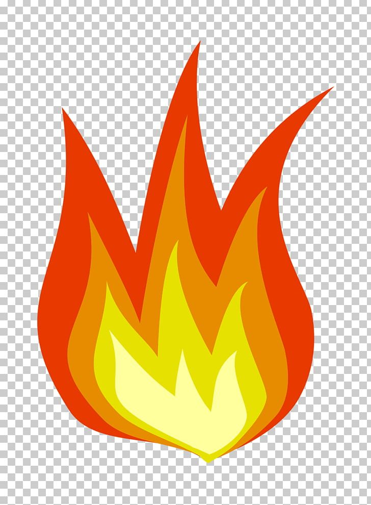 Simple flame clipart