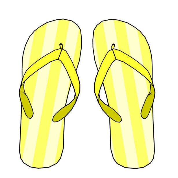 Simple flip flop clipart picture free stock Flip Flop Clipart Black And White | Free download best Flip ... picture free stock