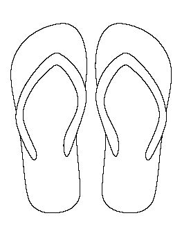 Simple flip flop clipart graphic freeuse download Flip Flop Sketch at PaintingValley.com | Explore collection ... graphic freeuse download