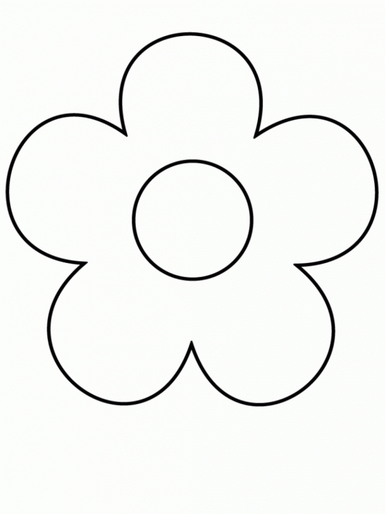 Simple flower clipart outline vector free stock Flower clip art easy - 15 clip arts for free download on EEN ... vector free stock