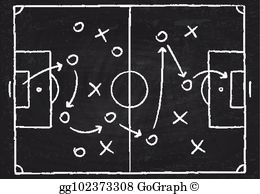 Playbook clipart picture freeuse download Playbook Clip Art - Royalty Free - GoGraph picture freeuse download