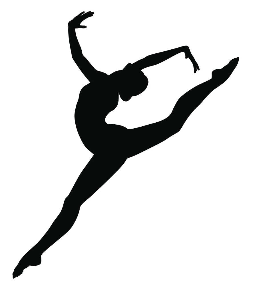 Simple gymnast clipart clip free library Gymnastics Balance beam Black and white Clip art - Dance ... clip free library