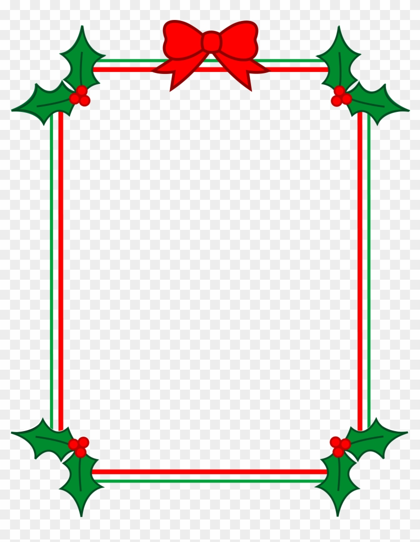 Simple holly border clipart png library Xmas Stuff For Christmas Holly Clipart - Simple Christmas ... png library