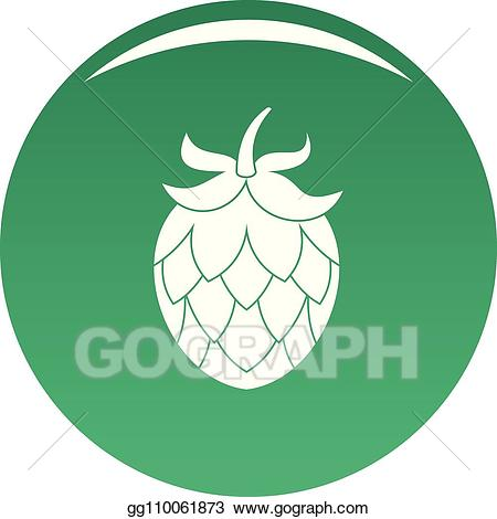 Simple hop clipart free stock Vector Art - Hop icon vector green. Clipart Drawing ... free stock