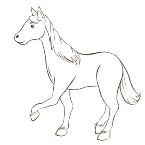 Horse drawing clipart clip art library stock Free Horse Drawing Easy, Download Free Clip Art, Free Clip ... clip art library stock