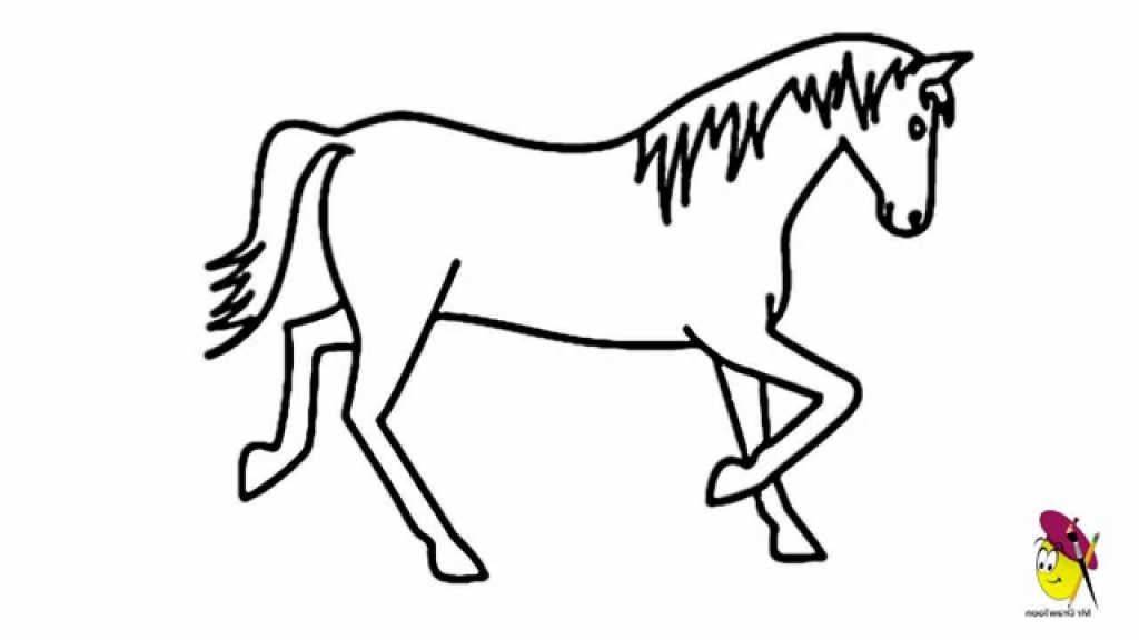 Simple horse clipart graphic transparent download Horse Drawing | Free download best Horse Drawing on ... graphic transparent download