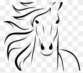Simple horse face clipart picture Horse Clipart Easy - Simple Horse Head Drawings - Png ... picture