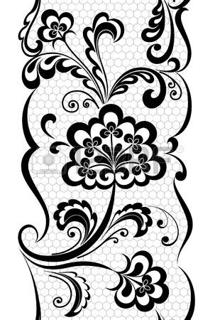 Simple lace patterns clipart svg transparent download 17,200 Lace Filigree Stock Vector Illustration And Royalty Free ... svg transparent download