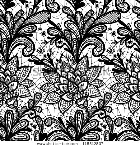 Simple lace patterns clipart clip art transparent stock Lace Pattern Stock Images, Royalty-Free Images & Vectors ... clip art transparent stock