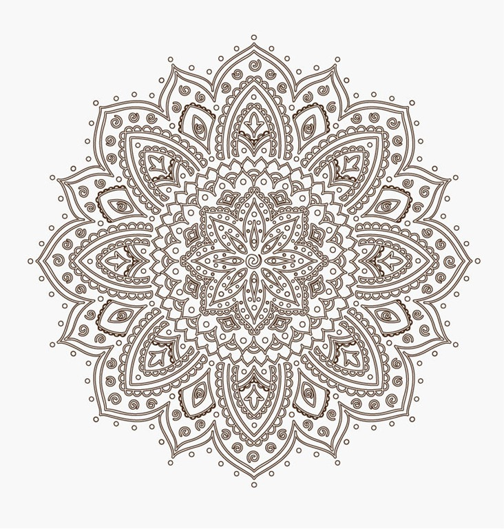 Simple lace patterns clipart image free stock Lace Pattern Clipart - Clipart Kid image free stock