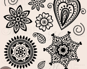 Simple lace patterns clipart image stock Simple lace patterns clipart - ClipartFest image stock