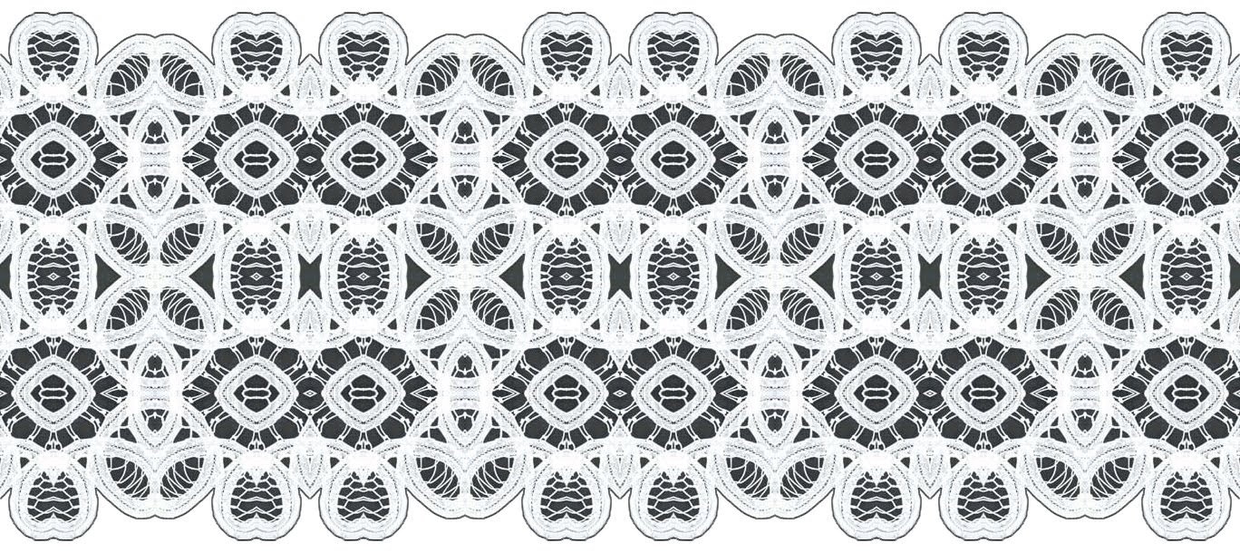 Simple lace patterns clipart jpg black and white library ArtbyJean - Paper Crafts: Lace pattern seamless borders in black ... jpg black and white library
