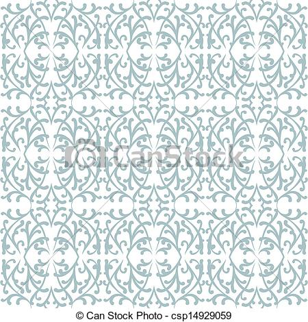 Simple lace patterns clipart png freeuse Clipart Vector of Elegant lace pattern with grey shapes on white ... png freeuse