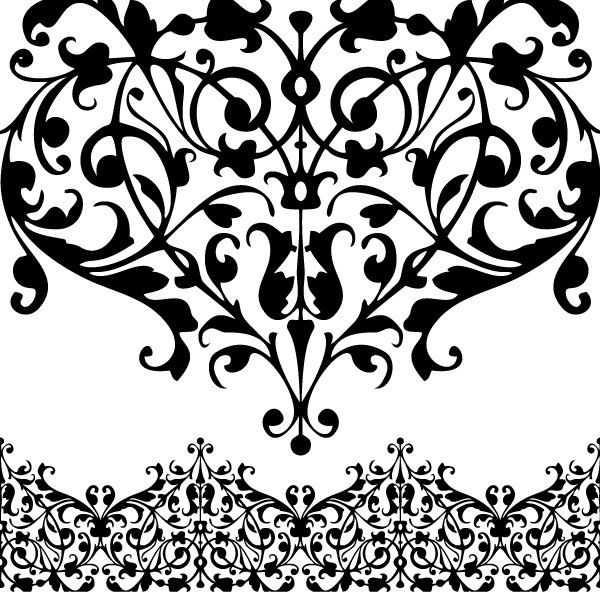 Simple lace patterns clipart clip art freeuse download Simple lace patterns clipart - ClipartFest clip art freeuse download