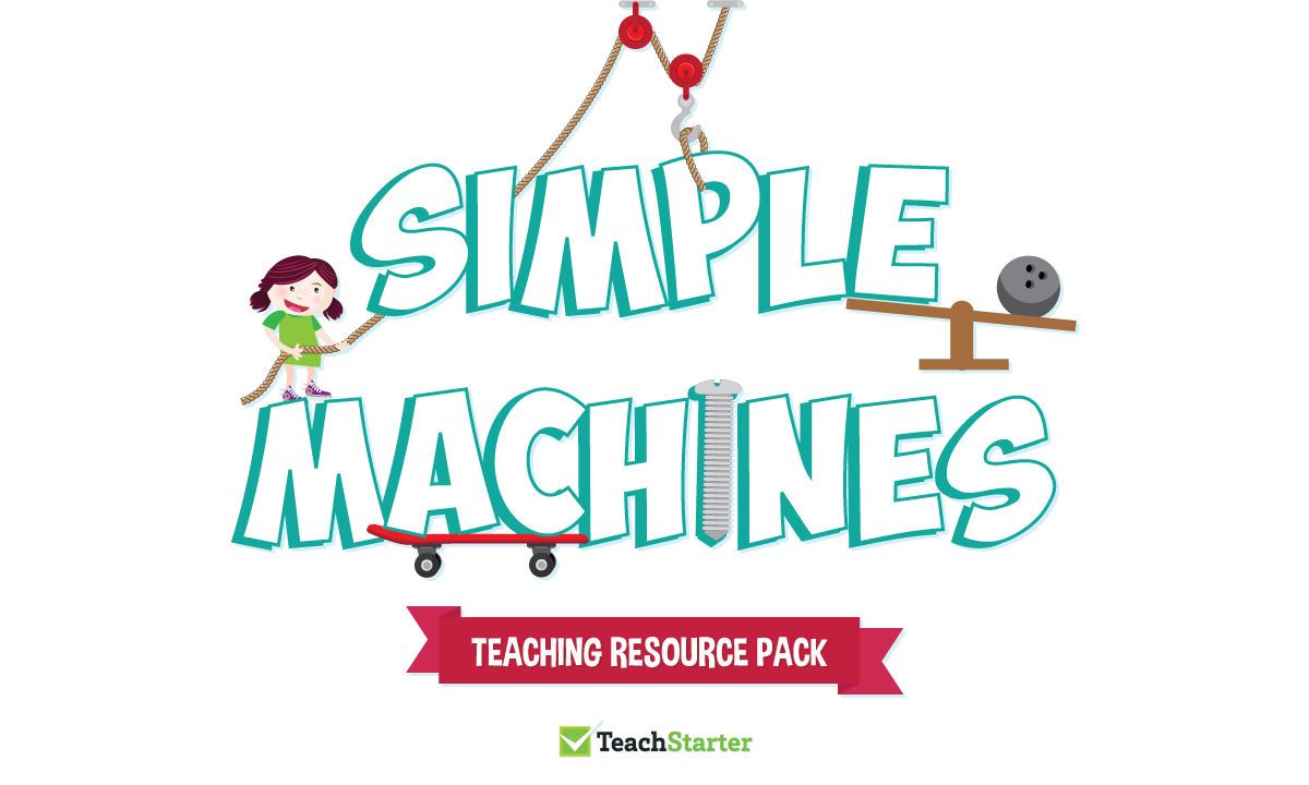 Simple machines banner clipart vector library download How to make a simple machine vector library download
