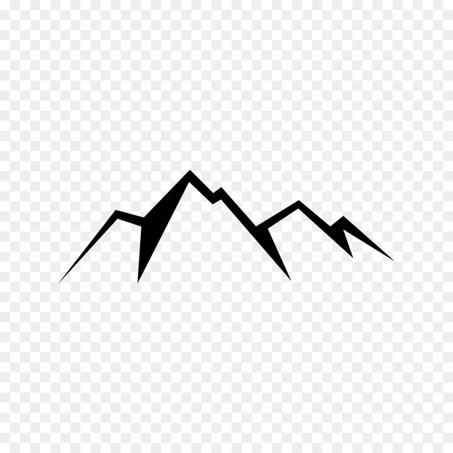 Simple Mountain Png & Free Simple Mountain.png Transparent ... graphic black and white library