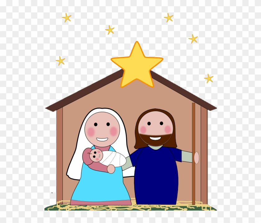 Simple nativity clipart clipart library download Free Nativity Clipart Silhouette - Cartoon Simple Nativity ... clipart library download