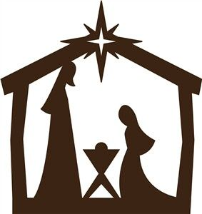 Simple nativity clipart image library download Simple Nativity Scene Drawing   Free download best Simple ... image library download