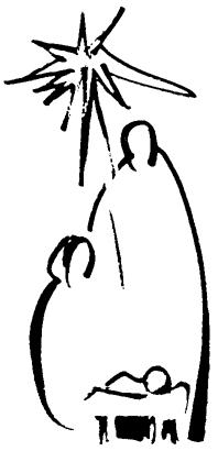 Simple nativity clipart picture transparent Simple Nativity …   advent   Chris… picture transparent