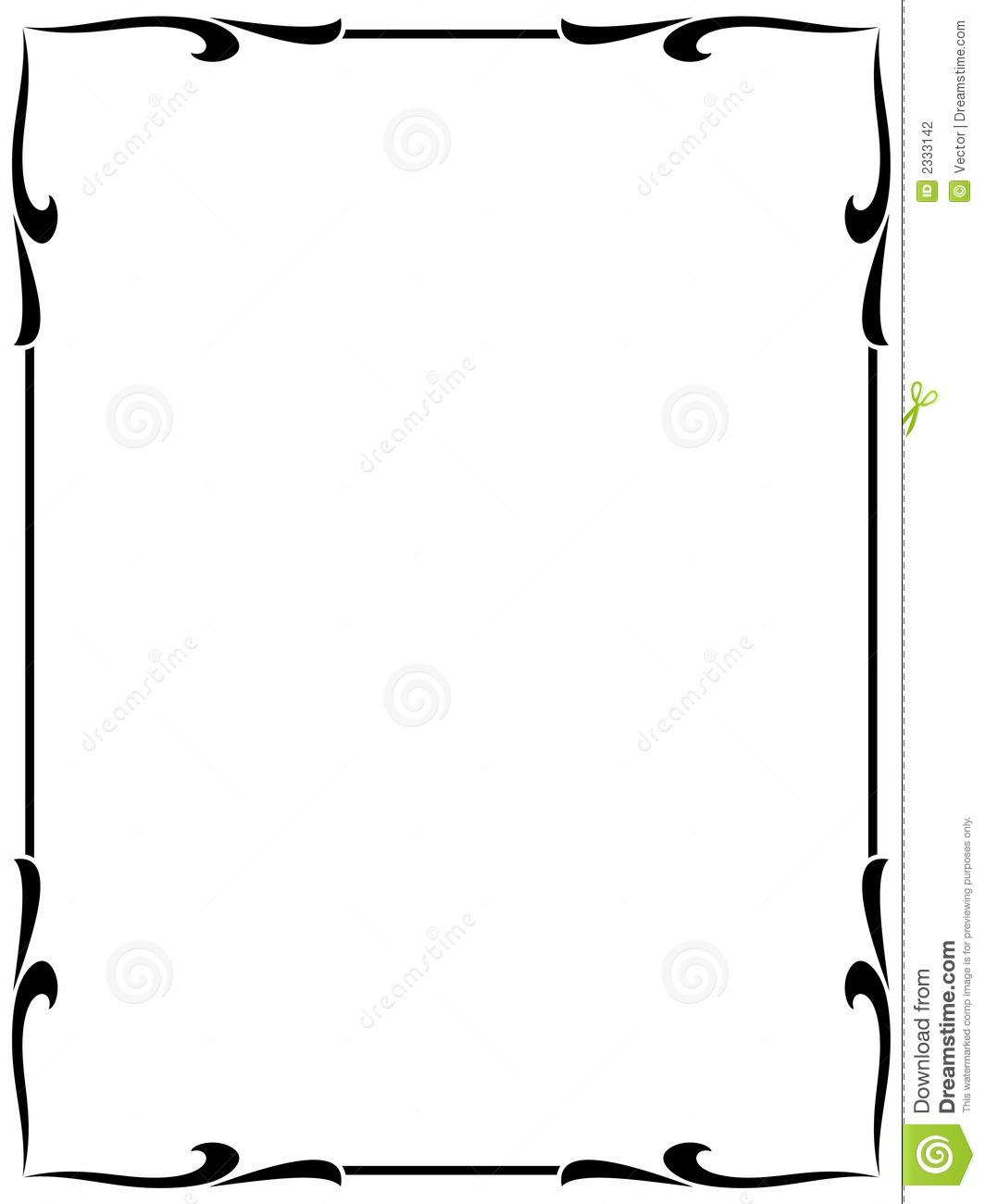 Simple picture frame clipart image transparent Elegant Border Frame | Free download best Elegant Border ... image transparent