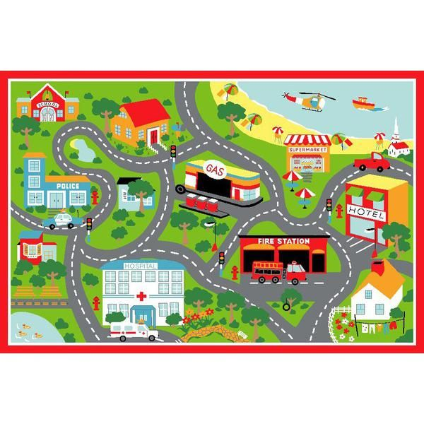 Simple road map clipart png free stock 17 Best images about Play mats on Pinterest | Spotlight, Cars and Kid png free stock