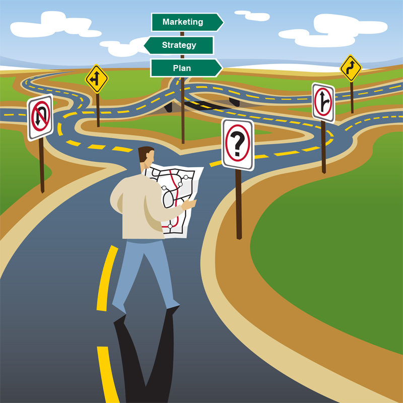 Simple road map clipart picture download Five Signs That It's Time to Ditch Your IT Roadmap – Agile Grit ... picture download