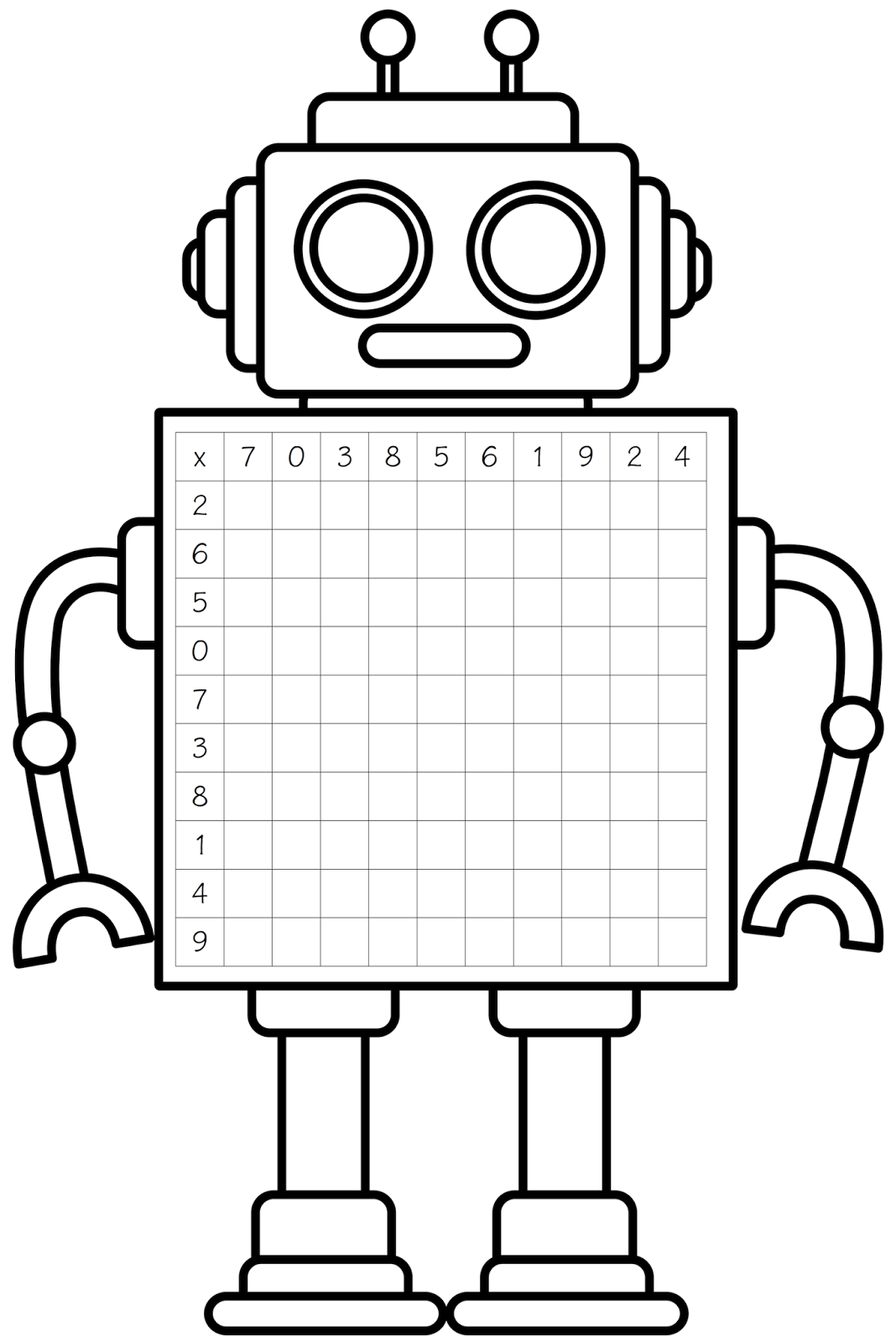 Simple robot with balloon clipart black and white clipart free library Free Robot Cliparts Black, Download Free Clip Art, Free Clip ... clipart free library