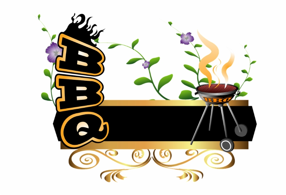 Simple smokehouse clipart graphic transparent Grilling Clipart Bbq Word - Transparent Background Bbq ... graphic transparent