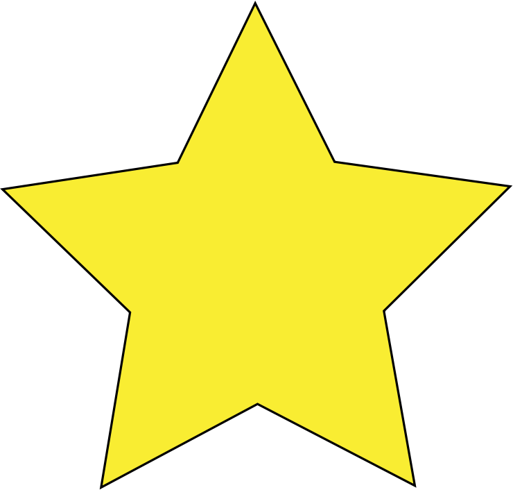 Simple star clipart graphic royalty free library Clipart - Simple Star graphic royalty free library