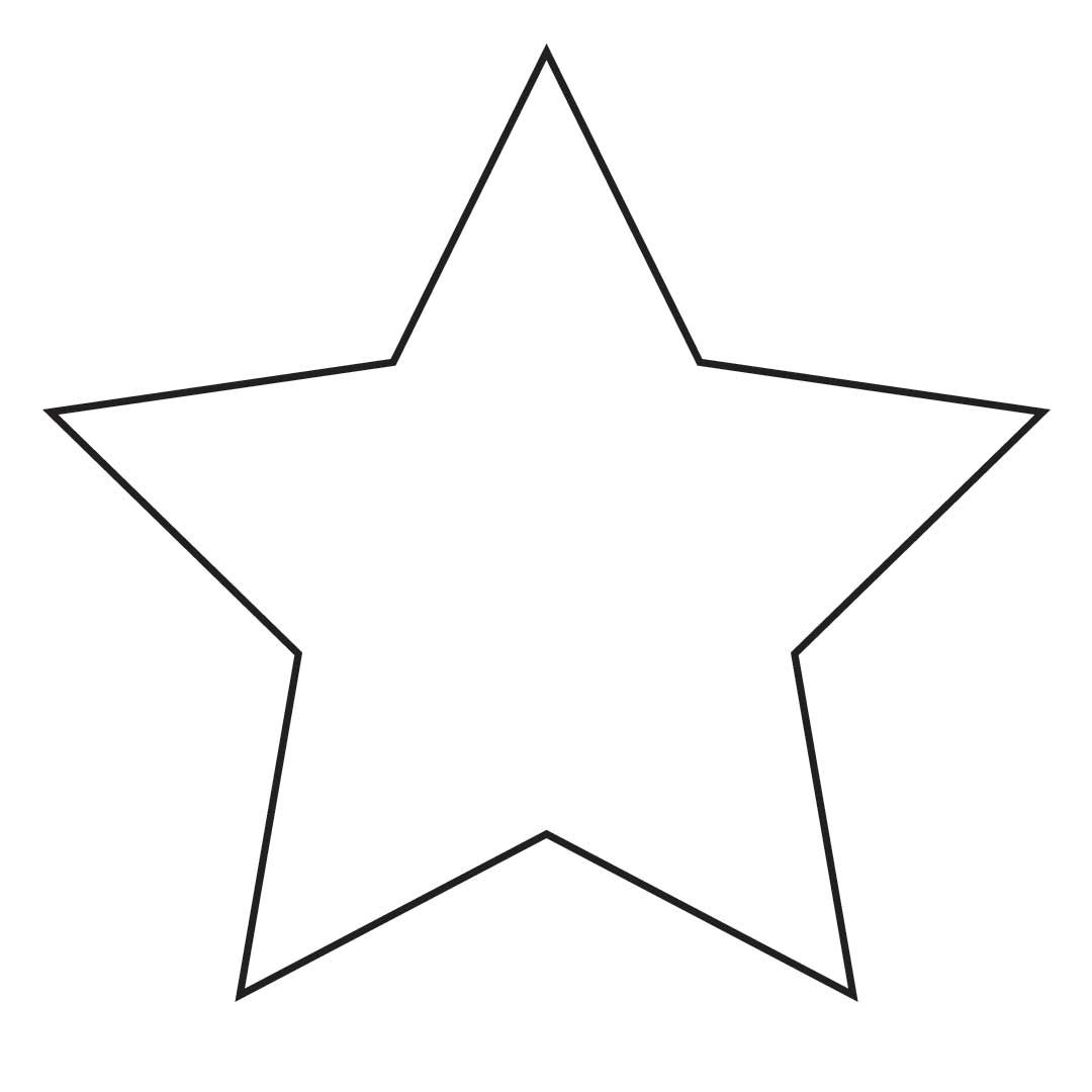 Simple start clipart clip art library library free clip art Rounded Star | Printables | Star stencil, Star ... clip art library library