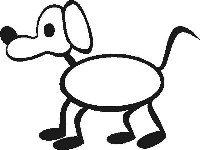Simple stick dog clipart clipart library download Free Stick Figure Dog, Download Free Clip Art, Free Clip Art ... clipart library download