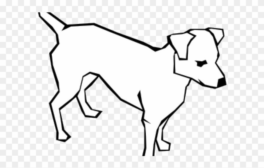 Simple stick dog clipart clipart free Dog Clipart Easy - Simple Dog Drawing - Png Download ... clipart free