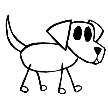 Simple stick dog clipart svg free Free Dog Stick Figure, Download Free Clip Art, Free Clip Art ... svg free