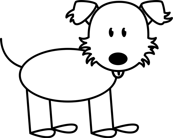 Simple stick dog clipart graphic library download Stick Dog Drawing | Free download best Stick Dog Drawing on ... graphic library download