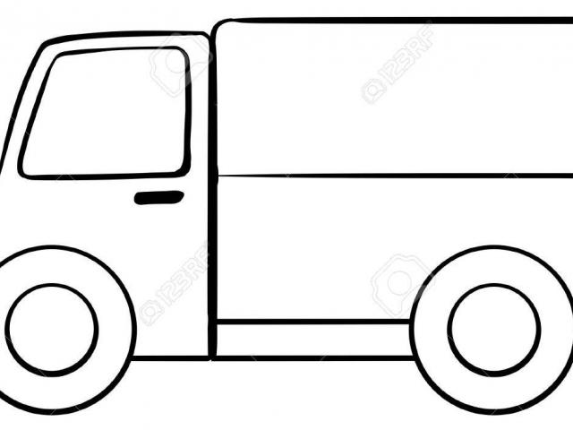 Simple truck clipart picture free Simple Truck Drawing | Free download best Simple Truck ... picture free