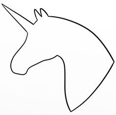 Simple unicorn clipart picture transparent Image result for unicorn clipart outline simple ... picture transparent