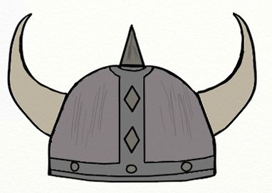 Simple viking helmet clipart graphic freeuse library Viking Helmet drawing - Google Search | Election Poster ... graphic freeuse library