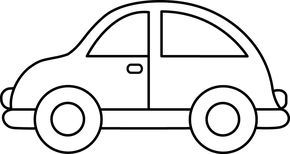 Simple wooden car clipart black and white banner freeuse Toy Car Clip Art Black and White | Embroidery | Cars ... banner freeuse