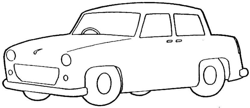 Simple wooden car clipart black and white banner freeuse Toy car clip art black and white clipartfox 3 - WikiClipArt banner freeuse
