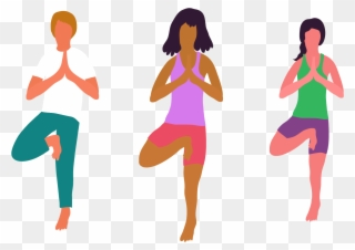 Simple yoga clipart svg freeuse download These Simple Explanations And Illustrated Sequences - Yoga ... svg freeuse download