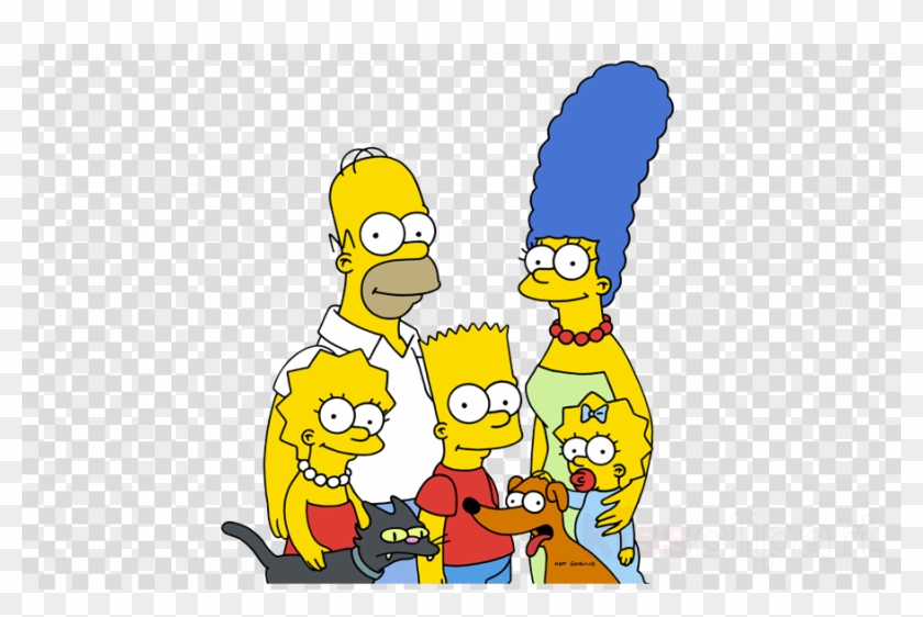 Simpson family clipart svg black and white download Simpsons Family Jpg Clipart Homer Simpson Bart Simpson ... svg black and white download