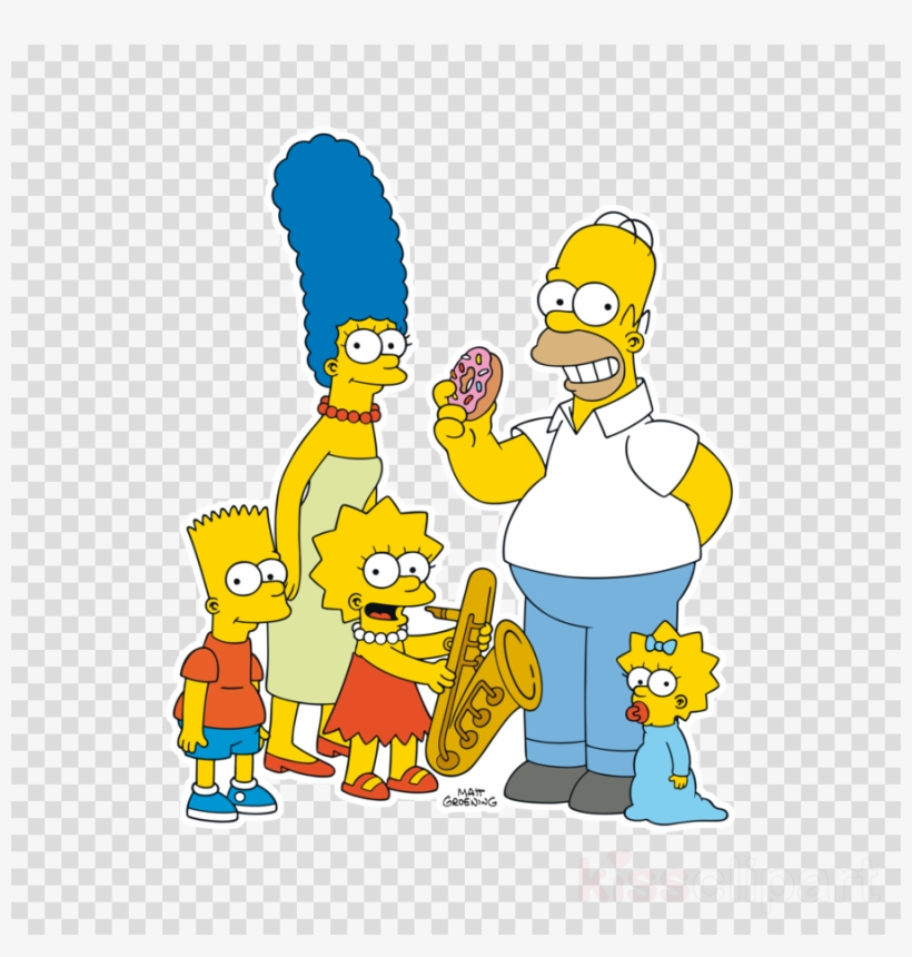 Simpson family clipart picture royalty free download Simpson Family Clipart Marge Simpson Homer Simpson - Camisa ... picture royalty free download