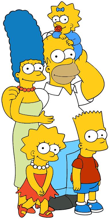 Simpson family clipart picture The Simpsons Clip Art | Cartoon Clip Art picture