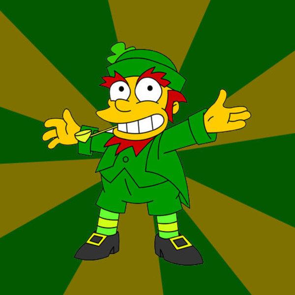 Simpson-s leprechaun clipart transparent library Advice Leprechaun | Know Your Meme transparent library