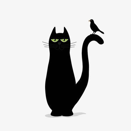 Simpticao clipart vector transparent download Stock Photo nel 2019 | GATTI &...CANI | Sfondo bianco, Gatti ... vector transparent download